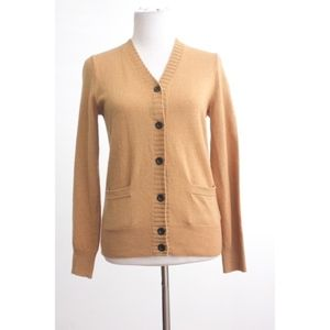 J. Crew Cashmere Wool Button Down Cardigan Small